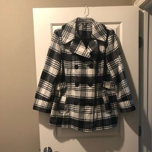 Pea Coat Plaid